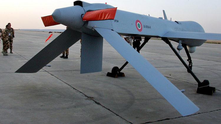 La Fuerza Aérea italiana difunde imágenes detalladas de ataques con drones contra el EI