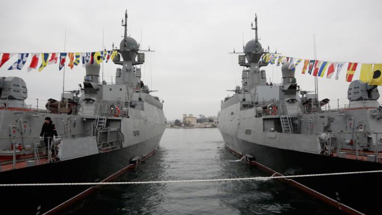 Corbetas rusas dotadas de misiles 'estrenados' en Siria se unen a la Flota del Mar Negro