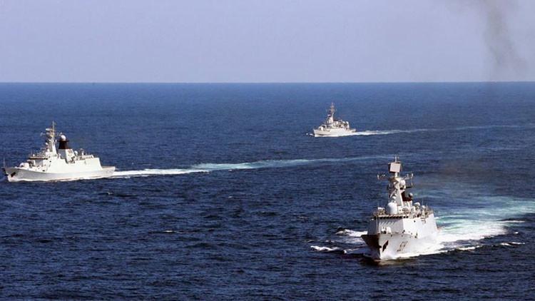 La Armada china intensifica los ejercicios en la zona en disputa en el mar de la China Meridional