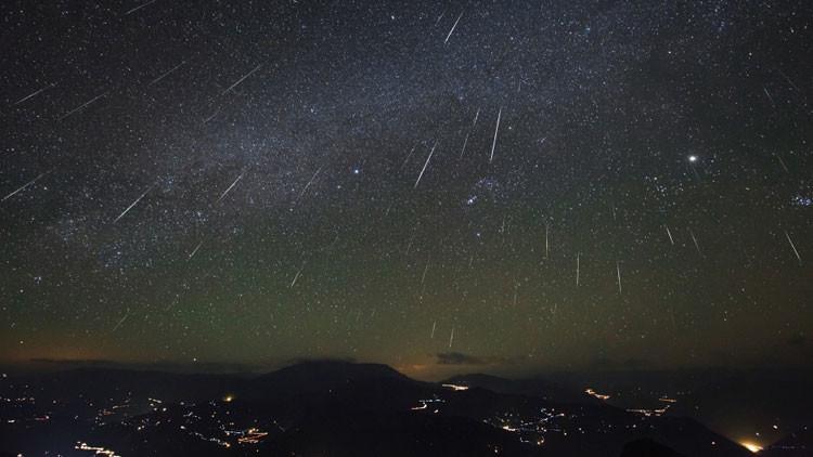 Levante la vista: la última lluvia de estrellas de este año alcanza su punto máximo