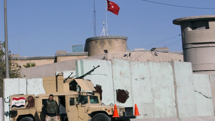 Irak quiere una solución diplomática a las tensiones por el despliegue de tropas turcas
