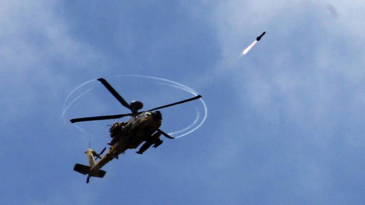 La aviación israelí ataca Gaza en respuesta al lanzamiento de un misil