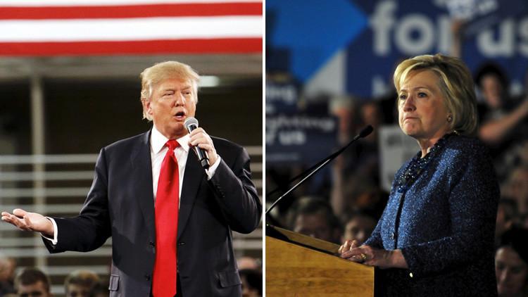 """Trump enfila baterías: """"Hillary Clinton ha matado a cientos de miles de personas"""""""