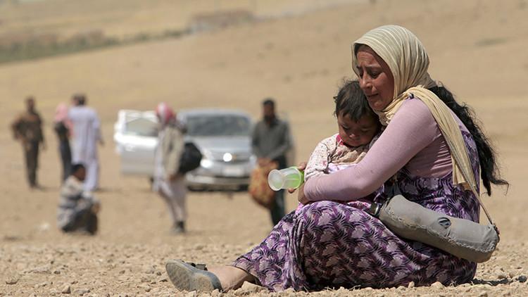 Descubren las celdas subterráneas en las que el EI encierra a las mujeres en medio del desierto