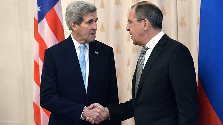 """Kerry: """"EE.UU. y Rusia coinciden en que el EI es una amenaza común con la que no se puede negociar"""""""
