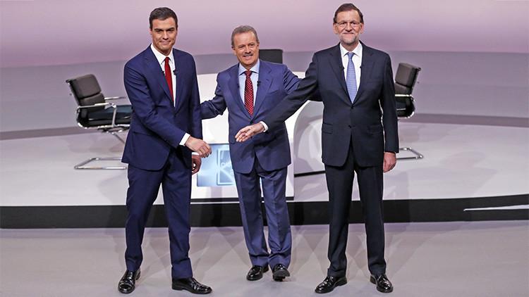 El debate 'vintage' entre Sánchez y Rajoy desata una ola de videos y memes satíricos