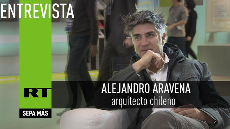 Entrevista con Alejandro Aravena, arquitecto chileno