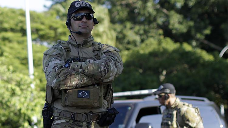 Arrestan a cuatro agresores que tomaron como rehenes a 30 personas en una joyería de Sao Paulo