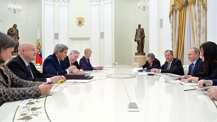 Rusia y EE.UU. se comprometen a erradicar el flagelo del terrorismo