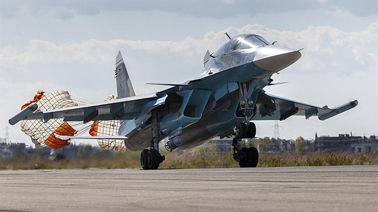 La Fuerza Aérea de Rusia destruye más de 200 objetivos terroristas en Siria en 24 horas