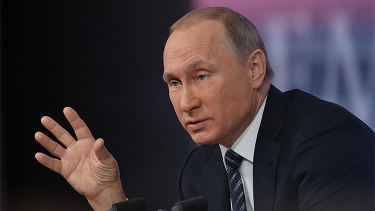 Vladímir Putin revela quién merece un Premio Nobel