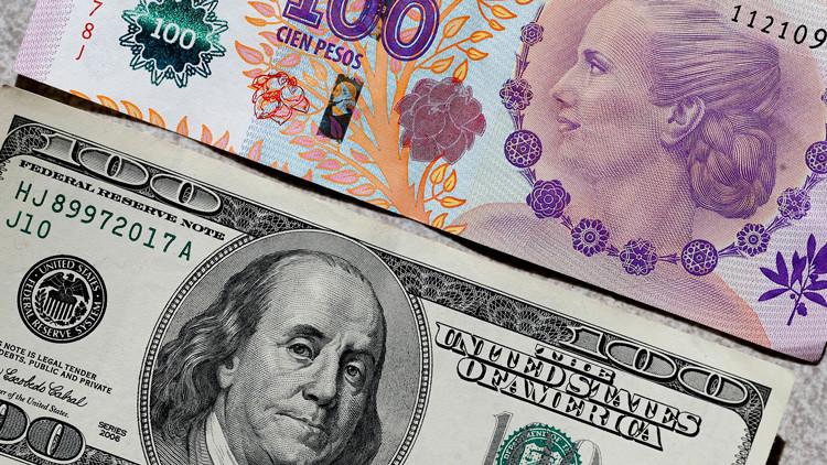 Subida del dólar| En un año el peso se devaluó casi un 75%