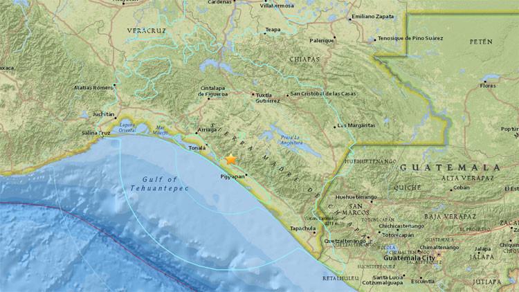 Video: Un sismo de magnitud 6,6 sacude México