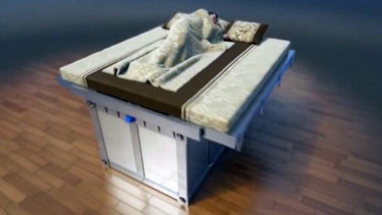 Este invento chino no es una copia: crean una cama antisísmica