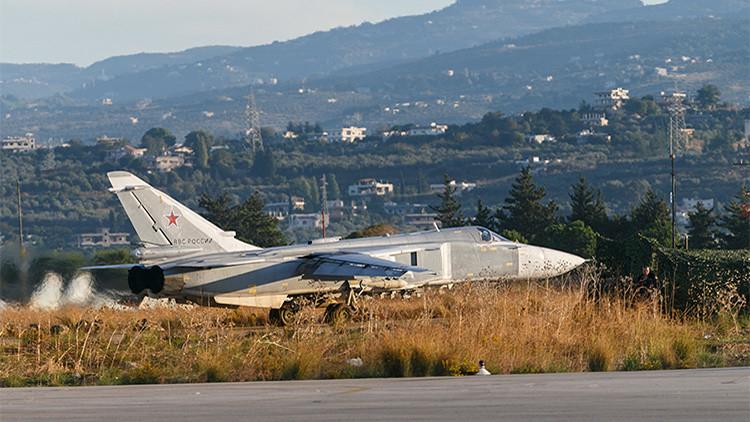 Rusia: Tenemos todas las pruebas de que el avión ruso Su-24 no violó el espacio aéreo turco