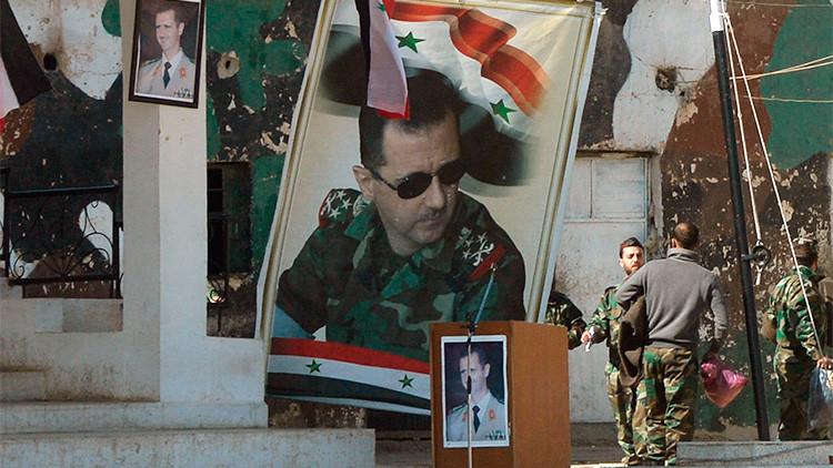 """Al Assad: """"Europa, Turquía y Arabia Saudita permiten que los terroristas invadan Siria"""""""
