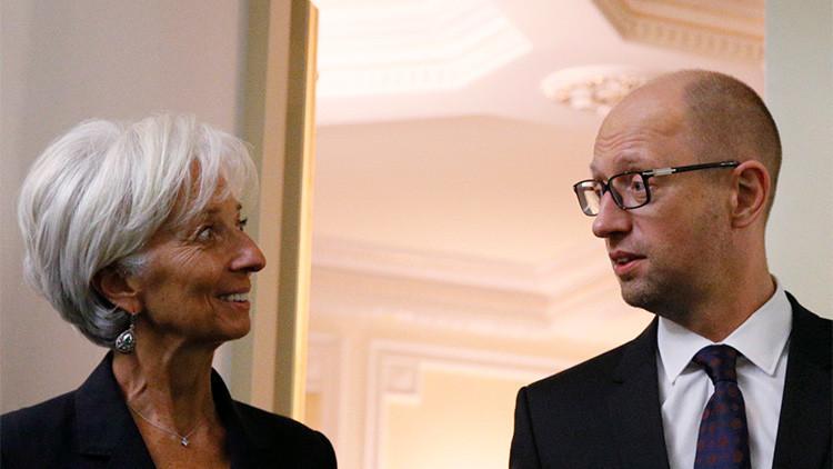 El FMI amenaza a Ucrania con suspender los programas de préstamos