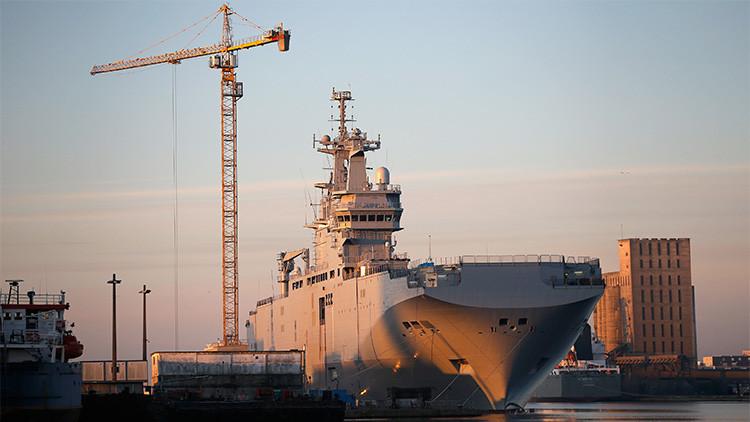 Rusia anuncia la construcción de sus propios portahelicópteros Mistral