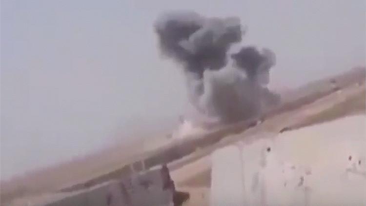 PRIMERAS IMÁGENES: Ataque por error de la coalición internacional contra militares iraquíes