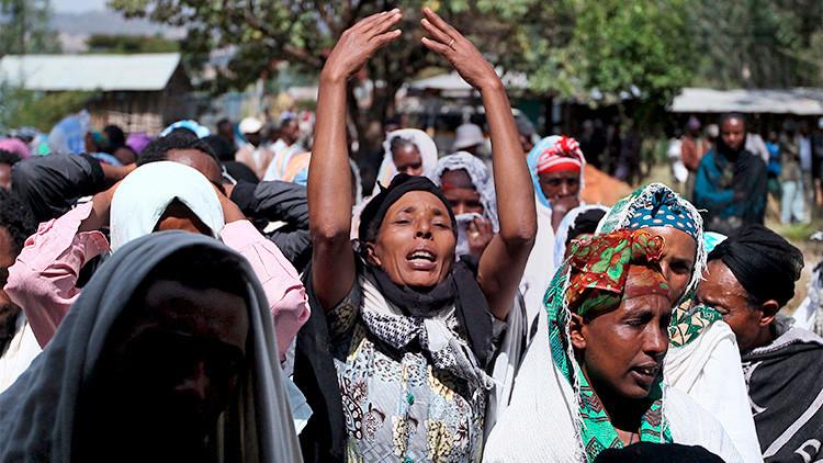 75 muertos y decenas de heridos por disparos de la Policía en Etiopía