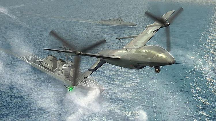 EE.UU. desarrolla un dron de una sola ala que puede aterrizar en cualquier lugar