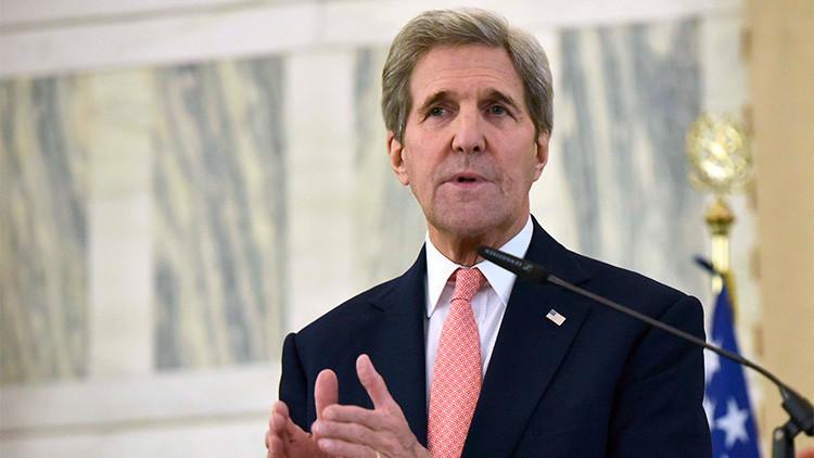 """Kerry sobre Siria: """"No intervenimos en los asuntos de otro país"""""""
