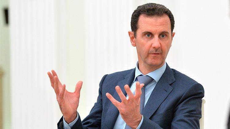 """Al Assad sobre 'el permiso' de Occidente para que siga en el poder: """"Pues estaba haciendo la maleta"""""""