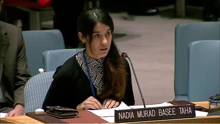 El escalofriante relato en la ONU de una esclava sexual del Estado Islámico