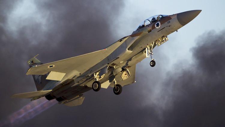 La Fuerza Aérea de Israel ataca un suburbio de Damasco
