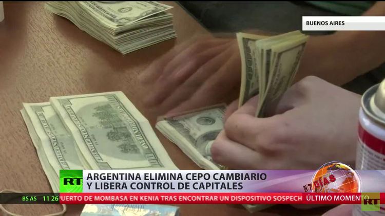 Argentina: El fin del cepo cambiario aprobado por Macri genera discusión en la sociedad