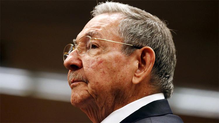 """Raúl Castro: """"EE.UU. mantiene programas que son lesivos a la soberanía cubana"""""""