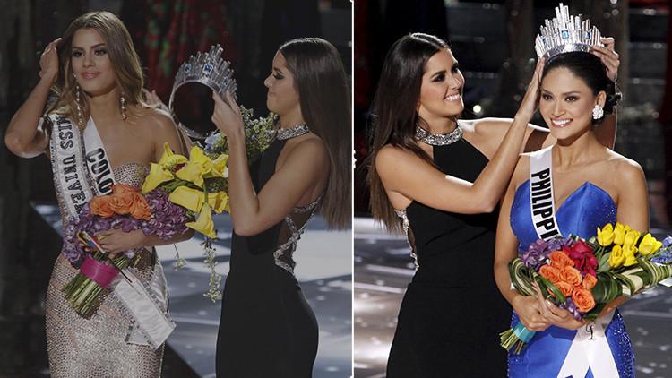 Video: El presentador de Miss Universo anuncia por error como ganadora a la participante colombiana