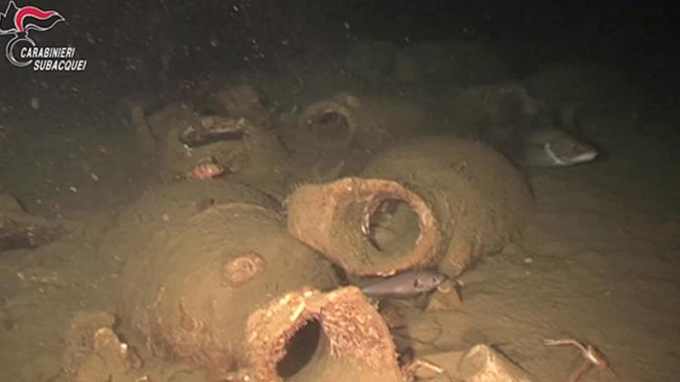 ¿Cómo era el 'kétchup' de hace 2.000 años? Hallan en Italia un buque que transportaba salsa antigua