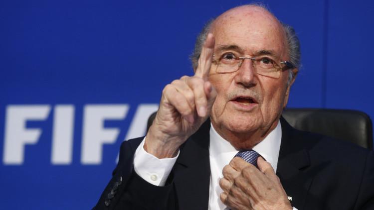 """Blatter: """"Si EE.UU. hubiera sido escogido como sede del Mundial este escándalo no existiría"""""""