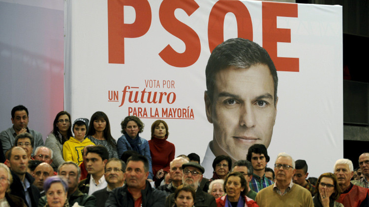 El PSOE anuncia que va a votar 'no' a Rajoy