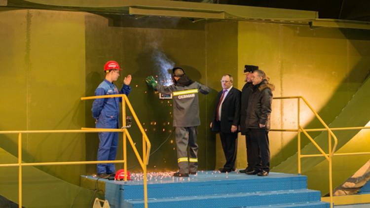 Conozca al Imperator Alexánder III, el nuevo submarino nuclear ruso
