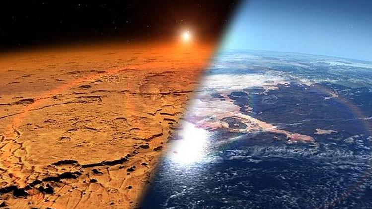 ¿Qué produjo los barrancos en Marte?