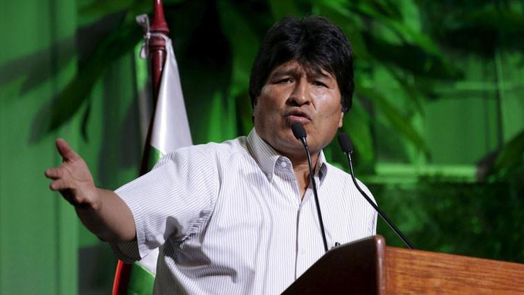 """""""Instrumento del capitalismo y del imperialismo"""": Evo Morales hace recomendaciones al FMI"""