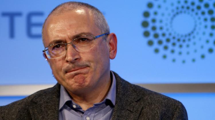 Emiten una orden de busca y captura internacional contra el exmagnate petrolero Mijaíl Jodorkovski