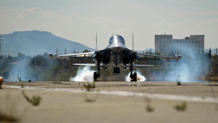 Rusia destruye un campamento de extremistas y dos almacenes petroleros en Siria