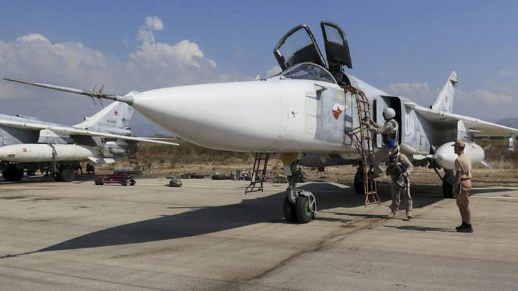 Video: La Fuerza Aérea rusa se emplea a fondo contra el Estado Islámico