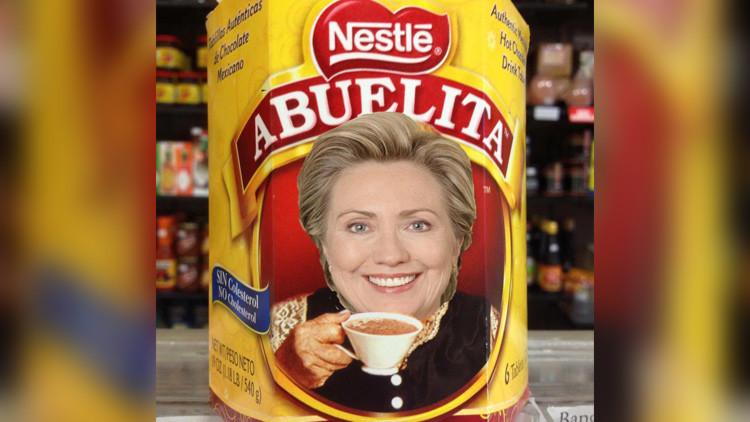 """""""No eres mi abuela"""": la comunidad latina carga contra la candidata Hillary Clinton"""