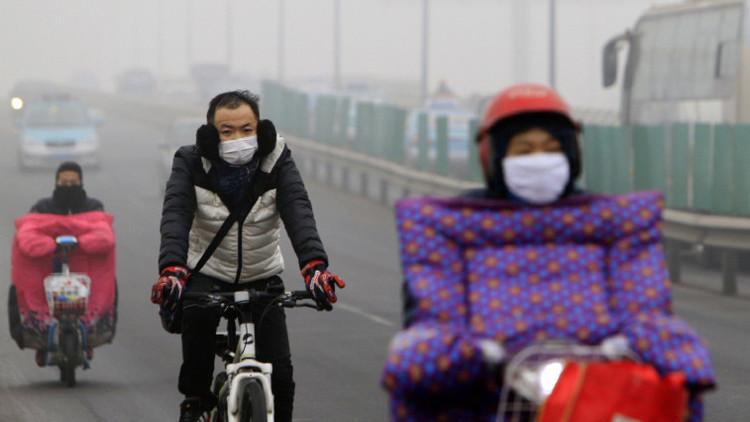 Vendedores de aire: China convierte el 'smog' en un negocio