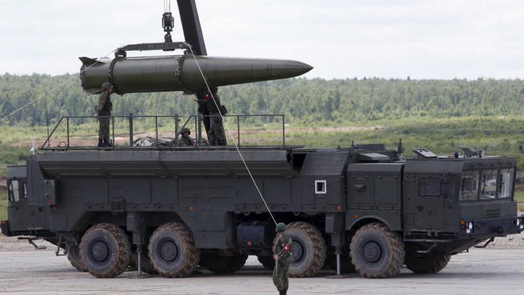 Rusia diseña un nuevo misil balístico para el sistema tierra-tierra Iskander-M