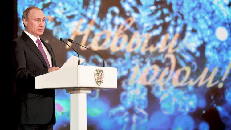 Momento histórico: Putin anuncia el acontecimiento más importante del 2015