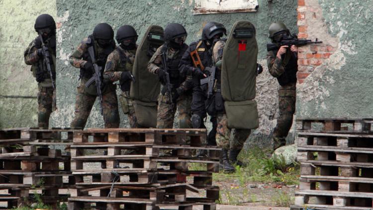 Video: Destruyen un laboratorio terrorista de explosivos en el sur de Rusia