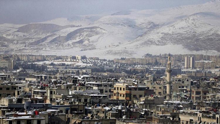 Rusia no da oportunidad: Terroristas huyen precipitadamente de los suburbios de Damasco