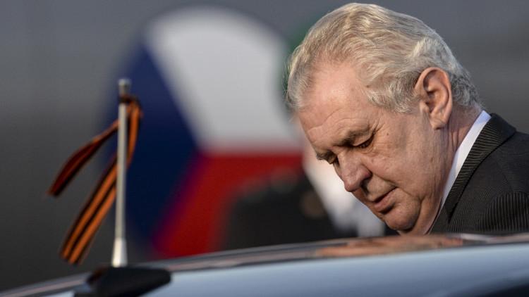 El presidente de la República Checa, Milos Zeman