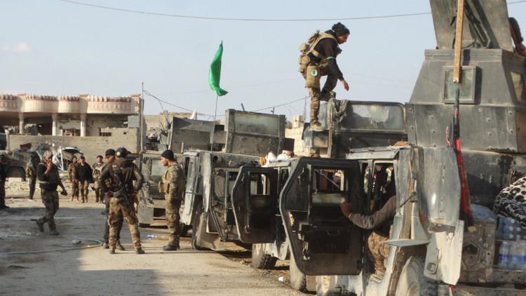 Tropas iraquíes toman la sede del gobierno de Ramadi, antiguo bastión del EI