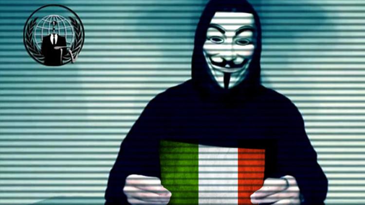 Anonymous afirma haber impedido un megaatentado del Estado Islámico en Italia